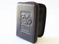財布 メンズ 二つ折り ファスナー 小銭入れあり 革 安い