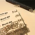 ピックアップカテゴリー2-3画像/送料無料/シンプル しおり ブックマーカー/クリップ 自転車柄/クリップ 自転車モチーフ/クリップ 自転車 柄 雑貨/おもしろ 文具/自転車チャーム オリジナル クリップ 自転車柄クリップ